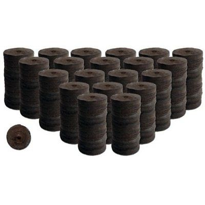 200 Count- Jiffy 7 Peat Soil 42mm Pellets Seeds Starting ...