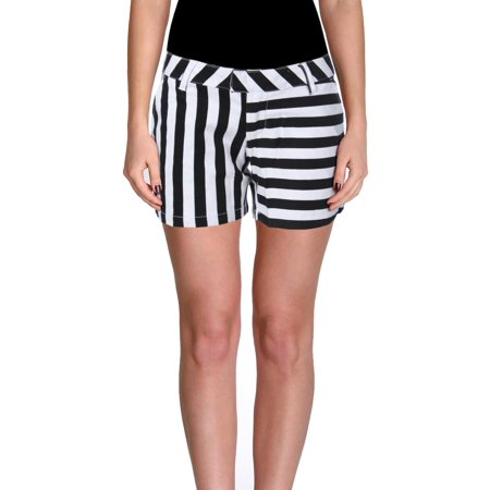 Volcom Womens Juniors Frochickie Flat Front Casual