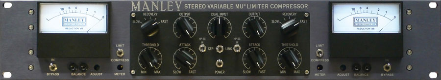 Manley Variable Mu Compressor Limiter by
