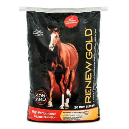 Manna Pro Renew Gold Horse Feed, 30 -
