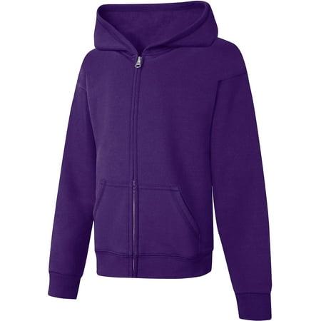 Girls Blezer (Girls' Fleece Zip Hood Jacket)