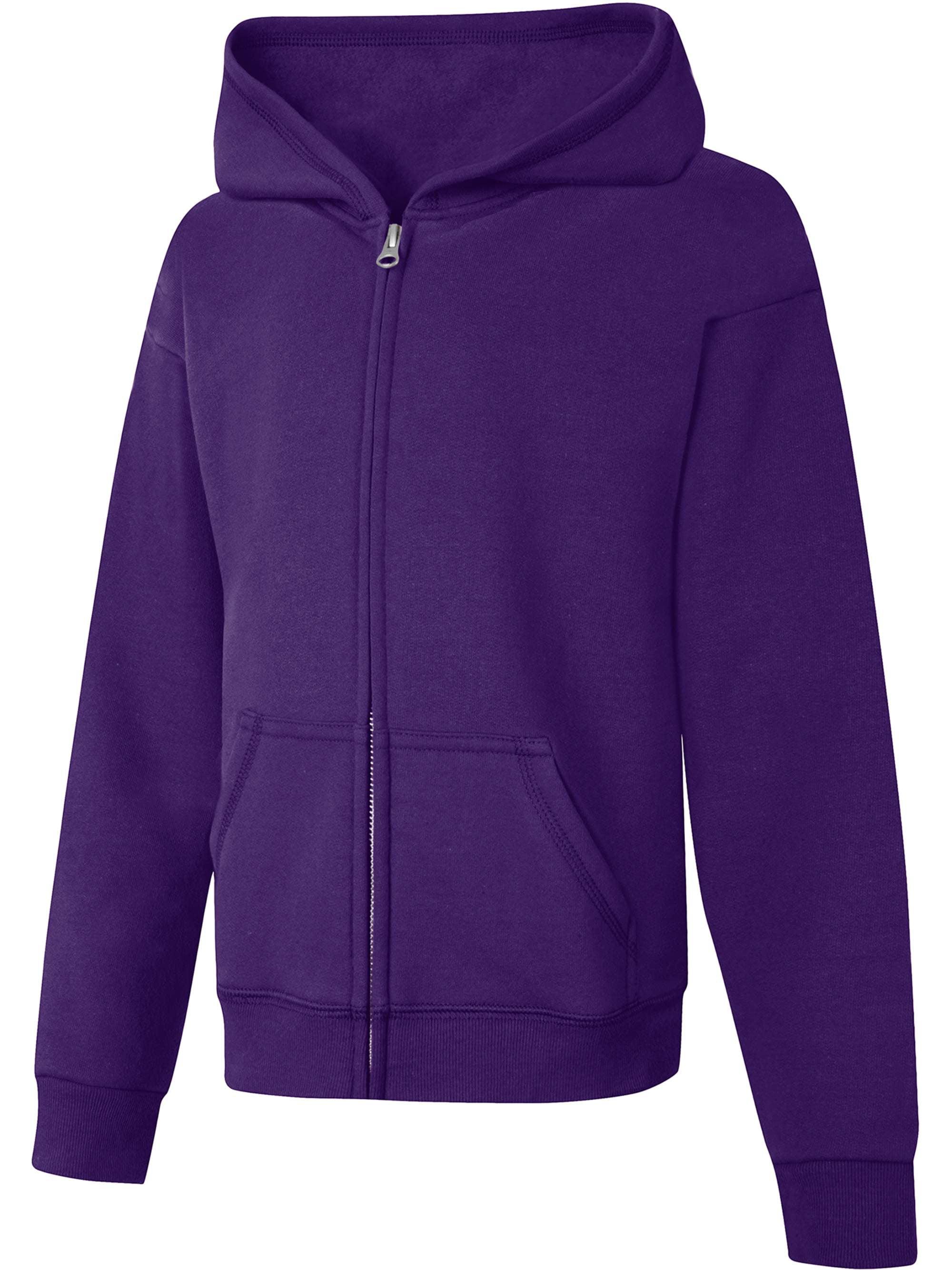 Girls' Fleece Zip Hood Jacket