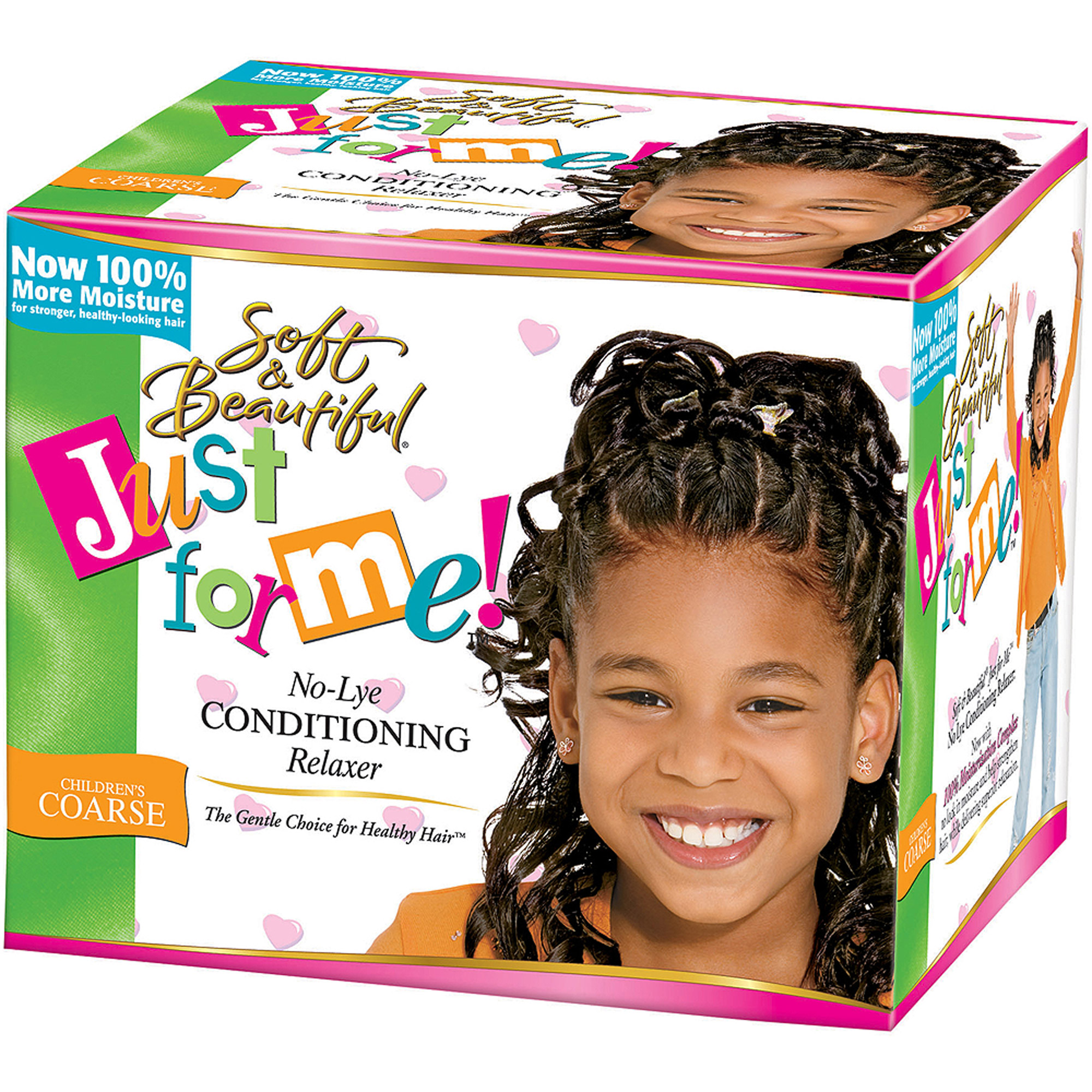Just For Me Coarse Conditioner Relaxer Kit