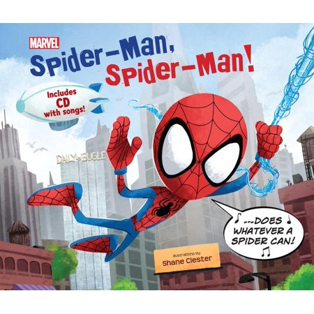 Spider-Man, Spider-Man! : Includes CD with Song!
