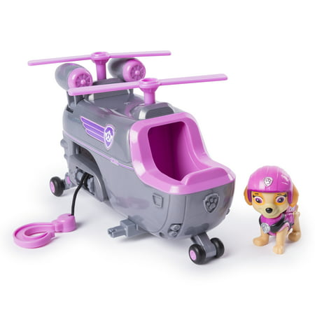 Paw Patrol Ultimate Rescue - Skye's Ultimate Rescue Helicopter with Moving Propellers and Rescue Hook, for Ages 3 and Up - New Ray Helicopter