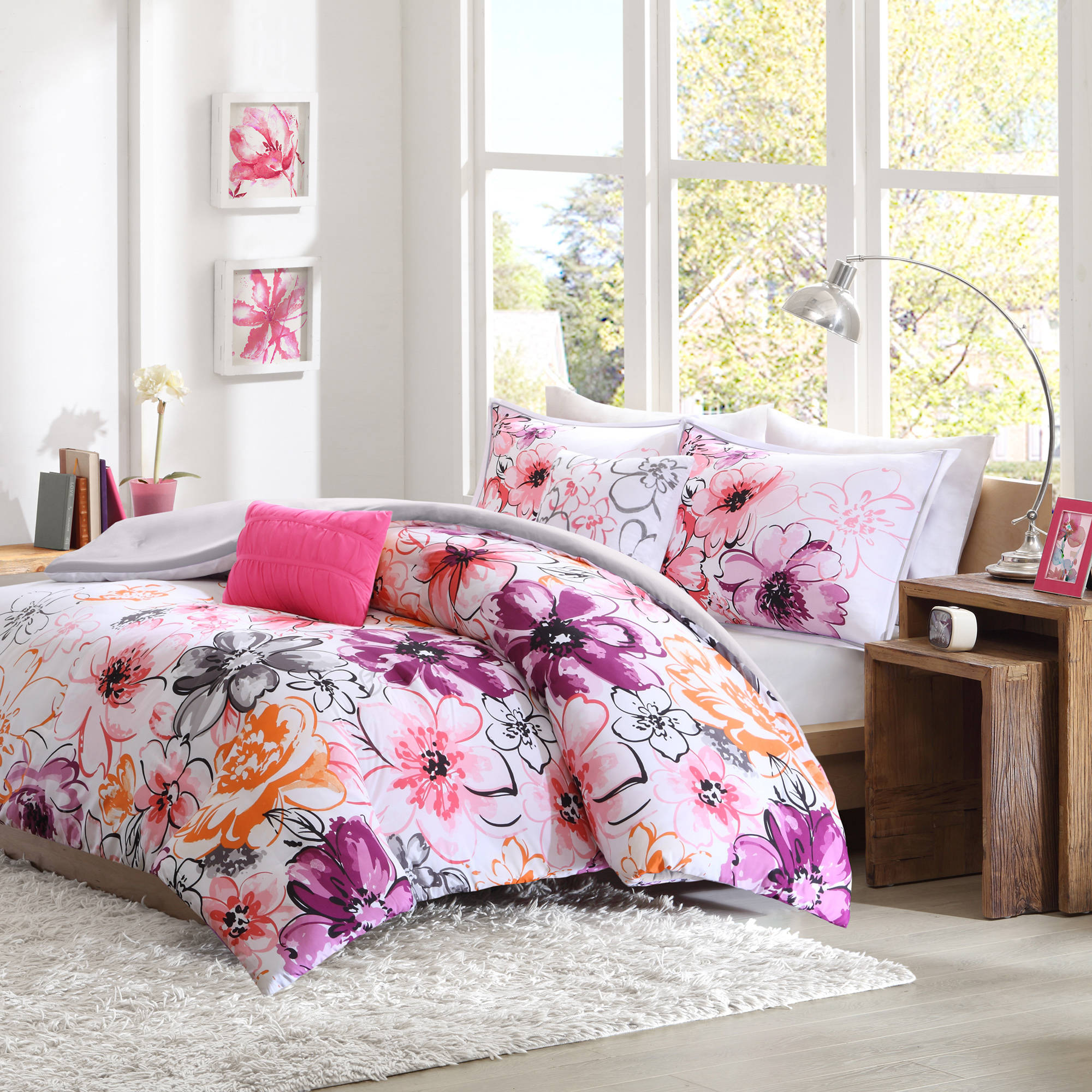 hello purple bedroom kitty ideas comforter decoration comforters set macys cotton bed size queen wonderful jcpenney duvet navy bedding for sets