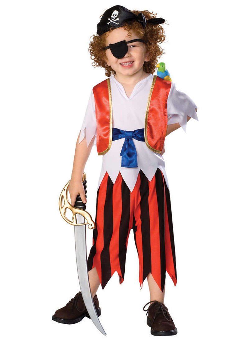 Toddler Caribbean Pirate Costume Rubies 885297 by Rubies