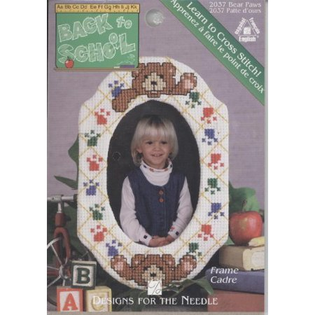 Bear Paws Frame Counted Cross Stitch Kit