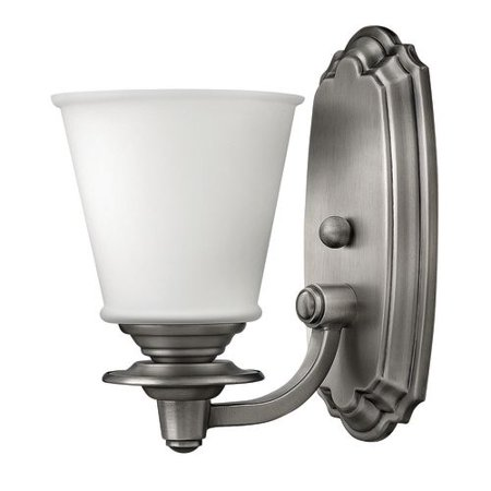 Hinkley Lighting 54260 1 Light Bathroom Sconce From The Plymouth Collection
