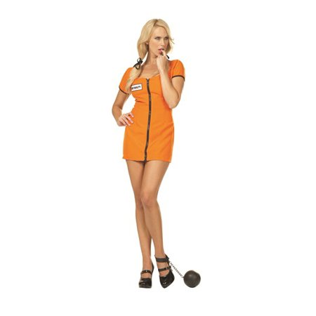 Orange Convict Costume (// Sexy Convict Costume//)