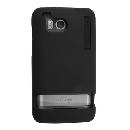 OEM Verizon Double Cover Case for HTC ThunderBolt ADR6400 (Black) (Bulk Packaging)