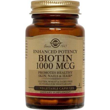 Biotin 1000mcg Solgar 100 VCaps