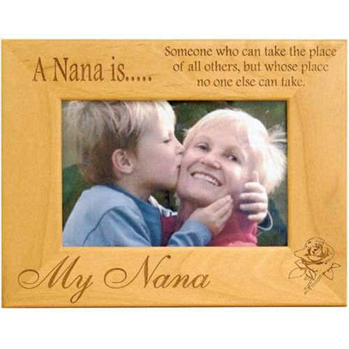 Giftworks Plus FAM0018 A Nana Is, Alder Wood Frame, 5 x 7 In