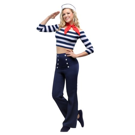Womens Nautical Beauty Costume](Nautical Costume Ideas)