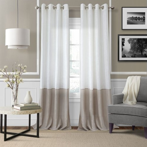 Elrene Home Fashions Melody Sheer Melody Sheer:52X95 Win Panel