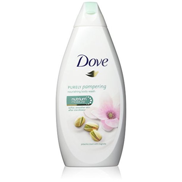 Dove Purely Pampering Body Wash Pistachio Cream With Magnolia 16 9 Ounce 500 Ml Pack Of 3 Walmart Com Walmart Com