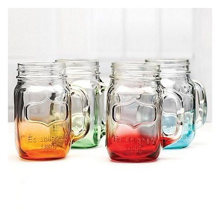 Circleware Mason Jar Mug 24 0z Multi Color