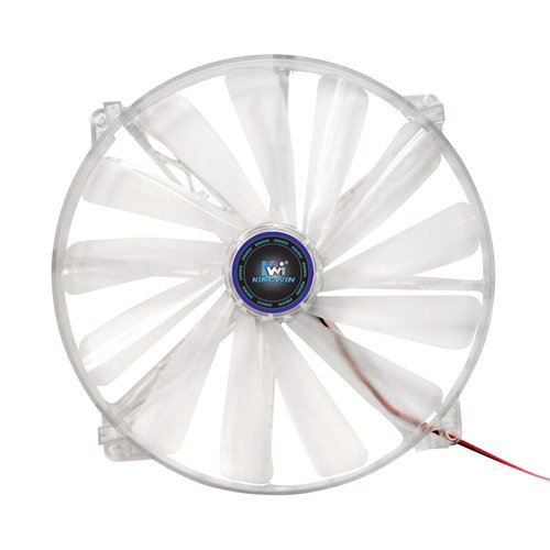 200 x 200mm Long-Life Bearing Blue LED Case Fan
