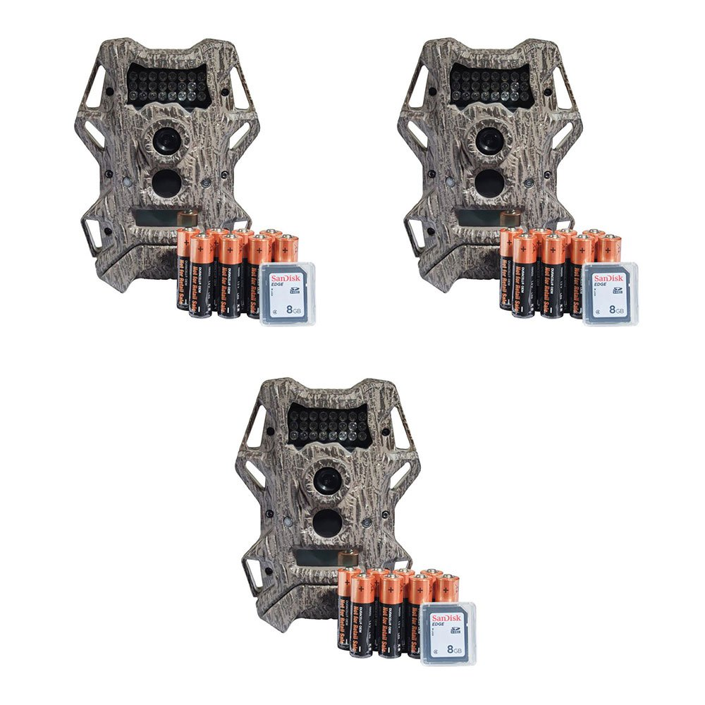 Wildgame Innovations Cloak 14 14MP IR Hunting Game Deer Trail Camera (3 Pack)