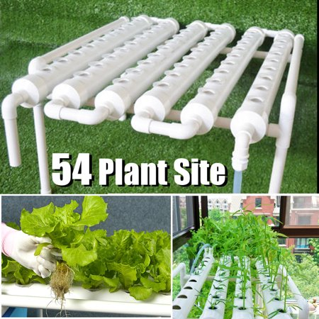 54 Sites / 36 SItes Hydroponic Grow Kit Engraftment Basket 6 Pipes Plant System Vegetable Deep Water Garden Tool American Hydroponics Hydroponic System