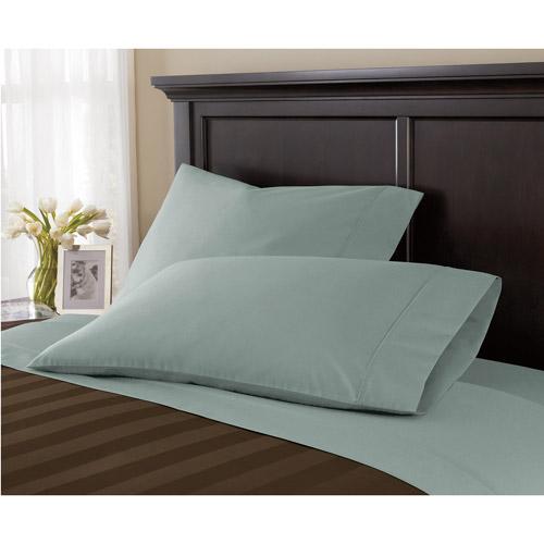 Canopy Wrinkle-Free Pillowcase, Teal Silk