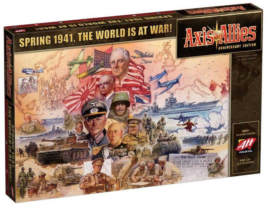 Axis & Allies Anniversary Edition Board Game by Avalon Hill