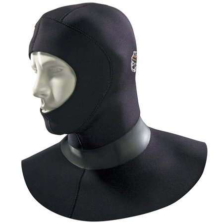 Akona 5/3 mm Standard Vented Hood (Black, Large)