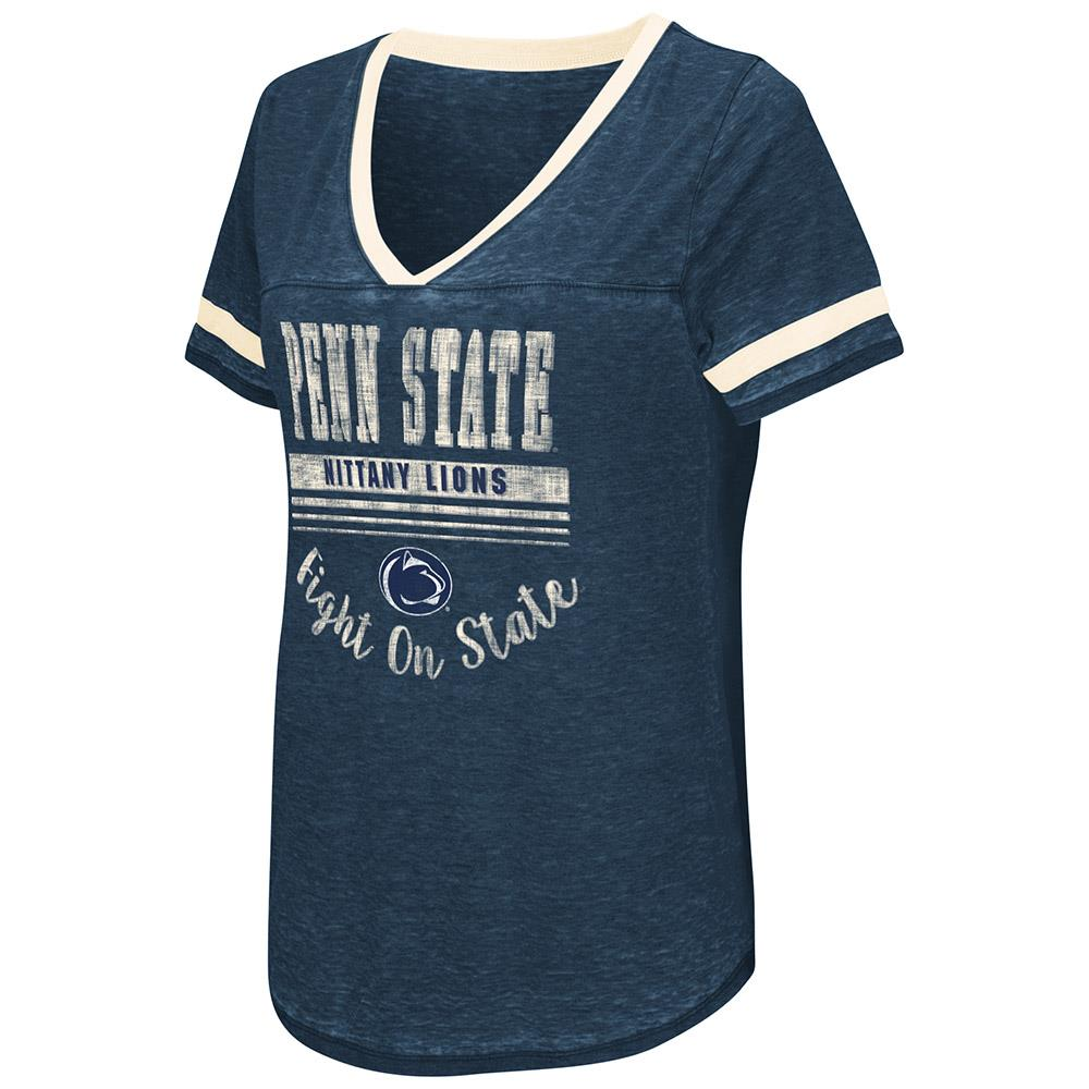 Womens Penn State Nittany Lions Short Sleeve Tee Shirt - S