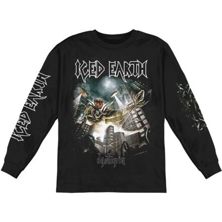 Iced Earth - Iced Earth Men s Dystopia 2012 Tour Long Sleeve Black -  Walmart.com 96acef7c26