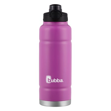 Bubba Trailblazer Insulated Stainless Steel Water Bottle with Push Button Lid, 40 Oz., Mixed Berry