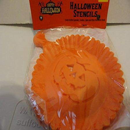Halloween Cookie Stencils
