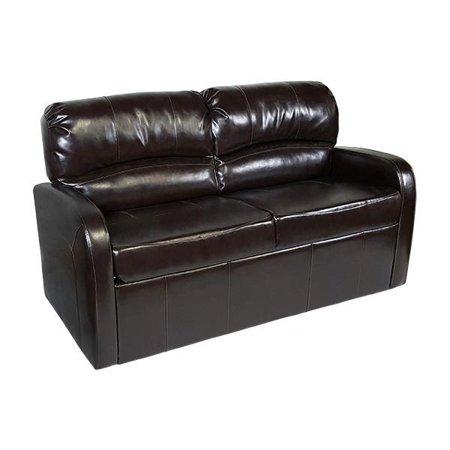 Recpro Charles 70 Jack Knife Rv Sleeper Sofa W Arms Espresso Furniture