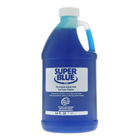Robarb 20155A Super Blue Crystal Clear Pool Water Polisher Clarifier, 1/2 Gallon