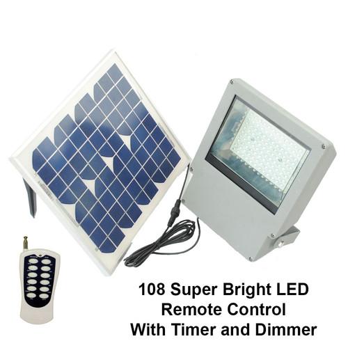 Solar Goes Green LED Flood Light