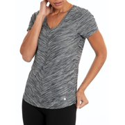 Bally Total Fitness Bally Total Fitness Women's Active Mitered Tee