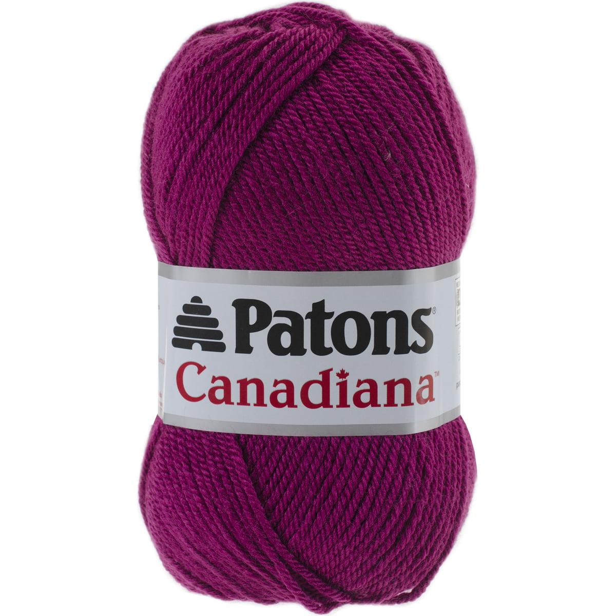 Canadiana Yarn - Solids-Deep Orchid
