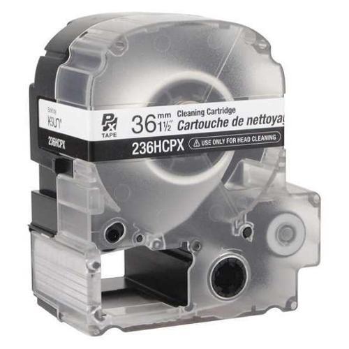 K-SUN 236HCPX Head Cleaning Cartridge,13 ft. L,Clear G2397556