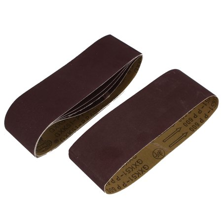 Woodworking 533mmx75mm 600 Grit Abrasive Sanding Belt Sandpaper