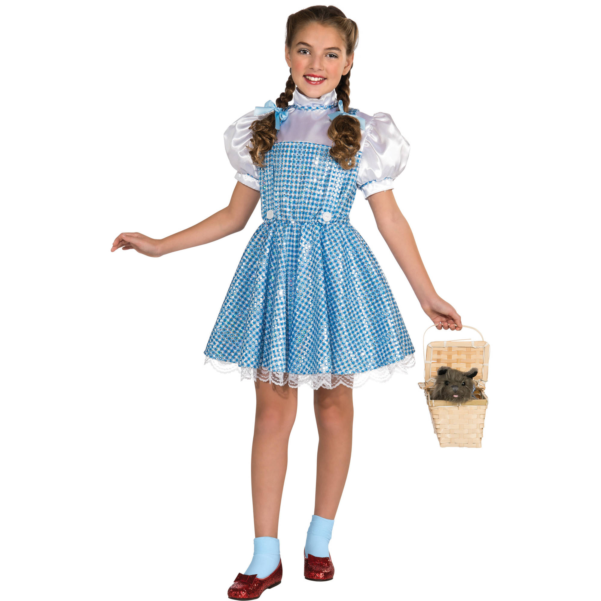"Wizard of Oz ""Dorothy"" Girls Dress Halloween Costume"