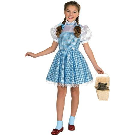 wizard of oz dorothy girls dress halloween costume