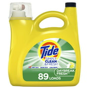 Tide Simply Daybreak Fresh, 89 Loads Liquid Laundry Detergent, 138 fl oz