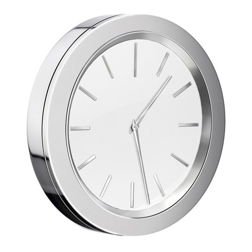 Bathroom Mirror Adhesive smedbo self adhesive bathroom mirror wall clock - walmart