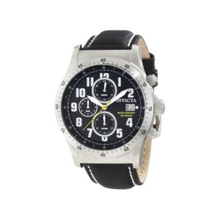 Men's 1316 Specialty Chronograph Navy Dial Black Techno Watch
