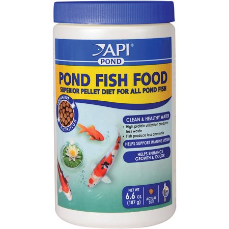 Api Aquarium Pharmaceuticals 198A 6 6 Oz Pond Fish Food