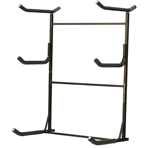 Stoneman Sports Catalina Plus 3-Kayak Freestanding Rack, Black by Stoneman Sports