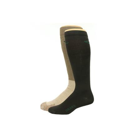 Drake Sock and Liner System, Mocha/Black, Lrg (W 9-12 / M 9-13), 2 (Drake Twist)