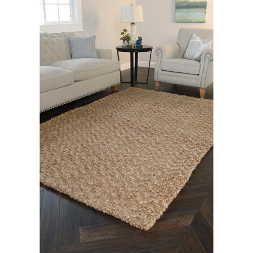 Kosas Home  Handspun Harrington Jute Charcoal Rug (5'x8')