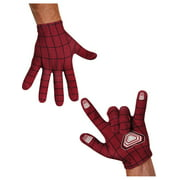 Adult The Amazing Spider-Man Spiderman 2 Red and Black Costume Accessory Gloves
