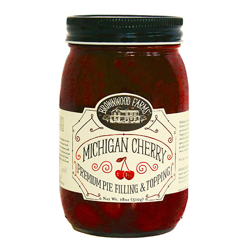 Brownwood Farms Michigan Cherry Premium Pie Filling & Topping by