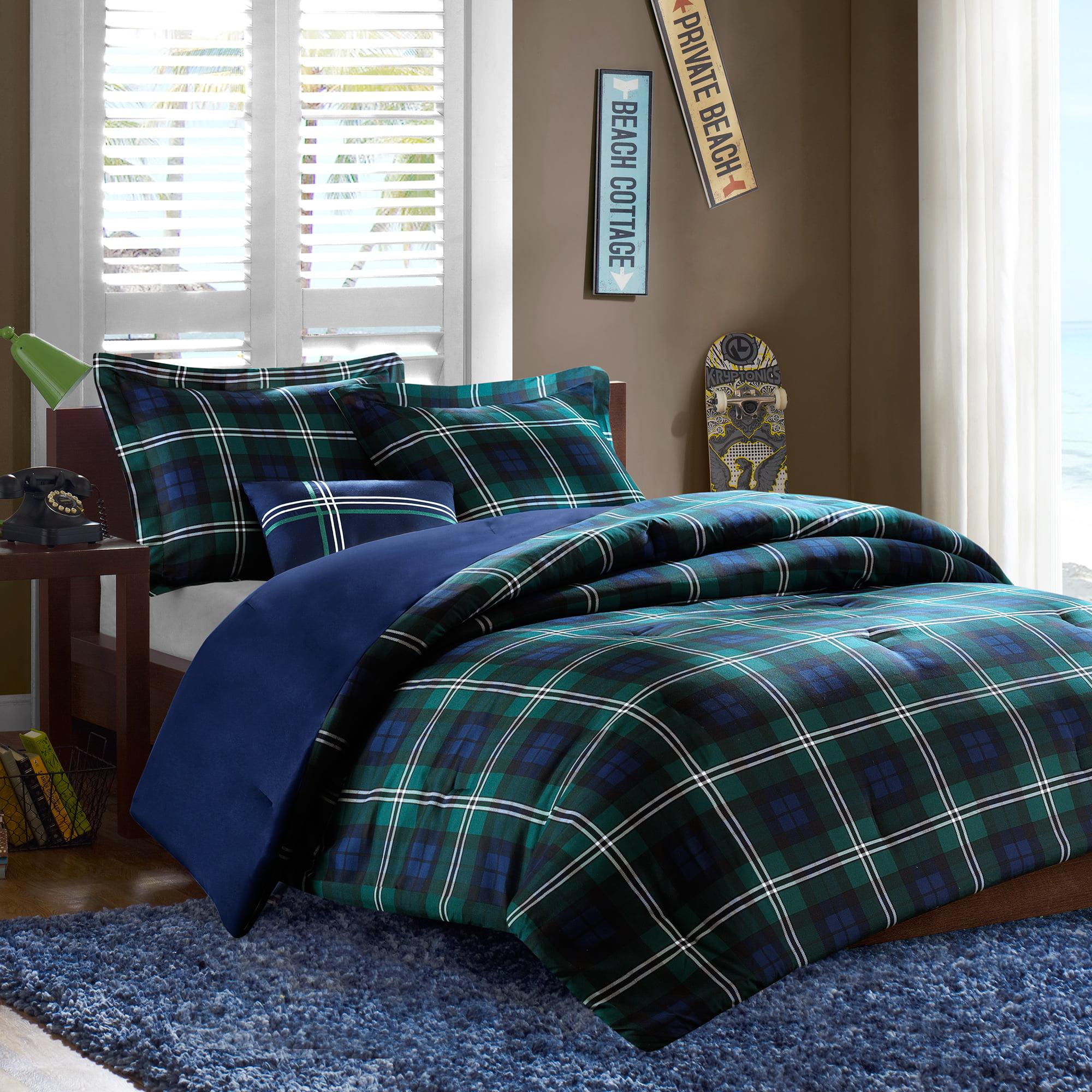 Home Essence Teen Bradley Printed Comforter Bedding Set
